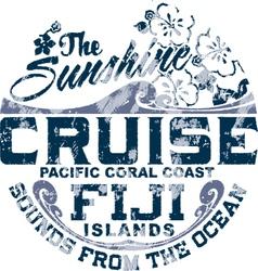 Coral coast vector