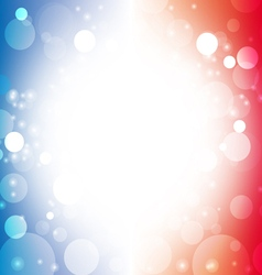 abstract background blur color american flag 1 vector image