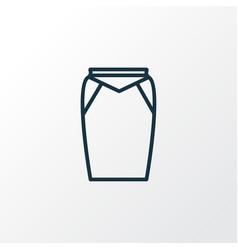 apparel icon line symbol premium quality isolated vector image