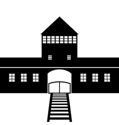 Auschwitz vector image