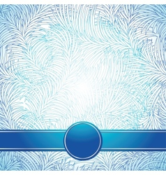 Background like a frost Abstract winter texture vector image