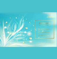 bio regenerate face cream vector image