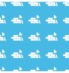 Building wall straight pattern vector image