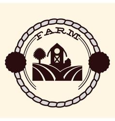 Farm concept design vector