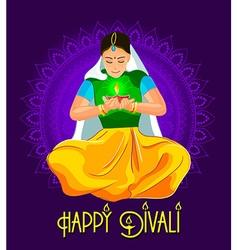 Festival Diwali vector