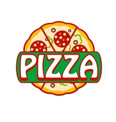 Pizza banner vector image