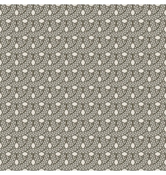 Seamless pattern from decorative rings vector
