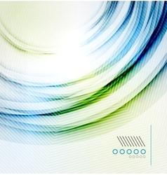 Textured elegant smooth swirl vector