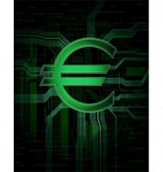 euro vector image vector image