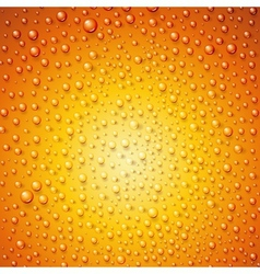 Water drops on surface as background vector image