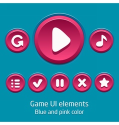 GameUiElements02 vector image