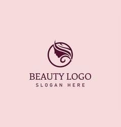Beauty logo salon logo salon logo creative vector