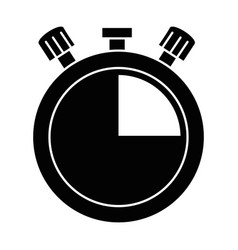 chronometer timer isolated icon vector image