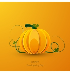 Modern thanksgiving day background vector