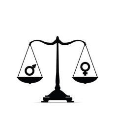 Scales with equality sign vector