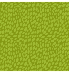 Seamless abstract pattern with stylized green vector image
