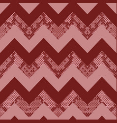 snake skin zig zag animal seamless pattern vector image