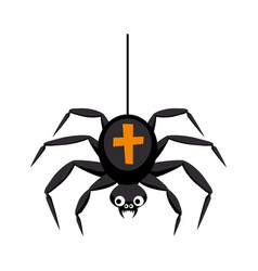spider holiday halloween character halloween vector image