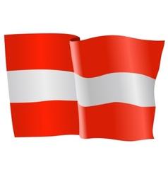 flag of Austria vector image