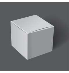 Template white box vector image vector image