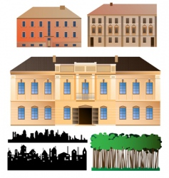 architecture collection vector image