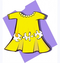 frock vector image vector image