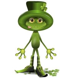 frog Patrick vector image vector image