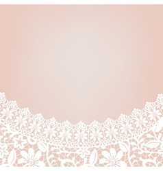 lace bridal dress vector image