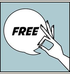 Free Label vector
