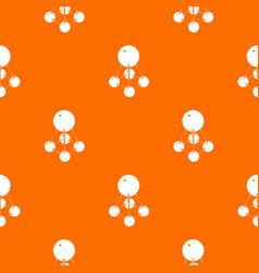 Nitromethane pattern orange vector