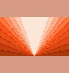 Paper cut out backdrop with gradient idea for vector