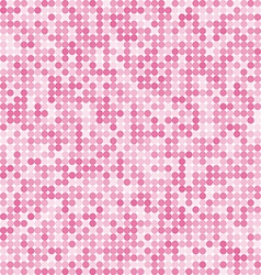 Pattern of the abstract circle pink background vector image