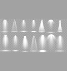 scene illumination big collection vector image