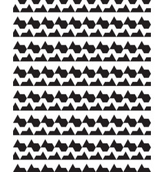 seamless monochrome geometric polygons patterns vector image