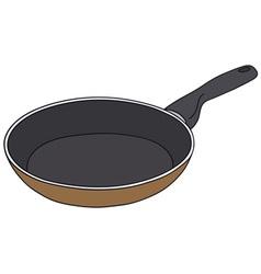 Teflon pan vector