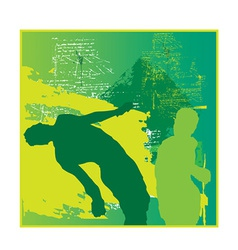 Boxer design vector image