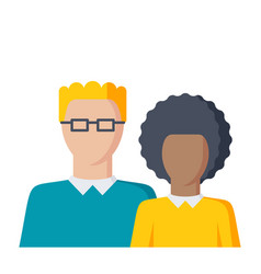 students icon vector image