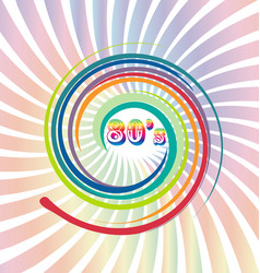 80 s old retro vintage background vector image