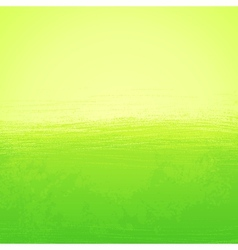 Abstract bright painted green background vector