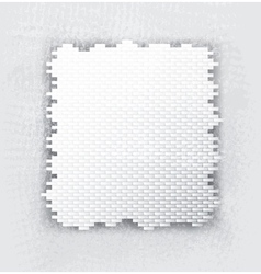 Brick banner vector
