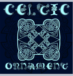 Decorative celtic ornament for your designs vector