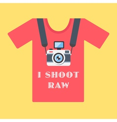 I shoot raw vector image