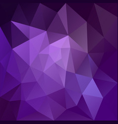 Irregular polygonal square background purple vector
