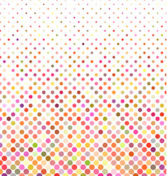 Multicolor dot background vector image