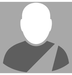 Patient Flat Symbol vector image
