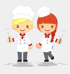 Profession-cute-chef vector
