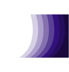 purple spectrum wavy line pattern frame vector image