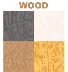 Set wood textures pattern wooden background vector