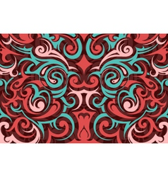Tribal tattoo background vector image vector image