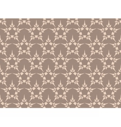 Vintage Abstract geometric star pattern vector image